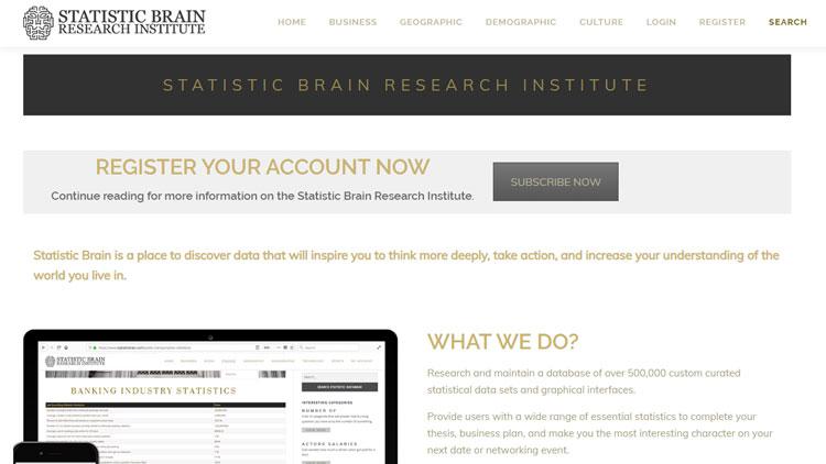 Statistic Brain