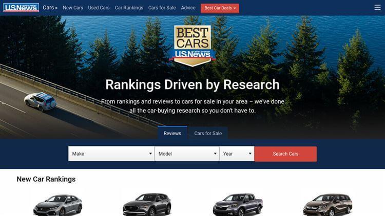 U.S. News Cars