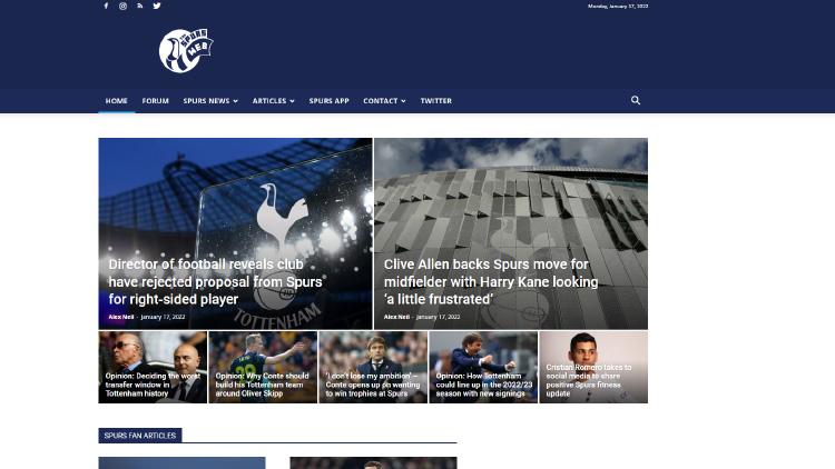 Spurs Web