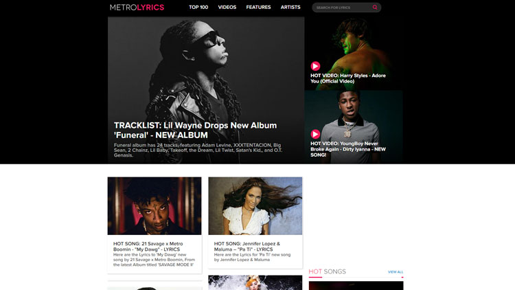 MetroLyrics.com