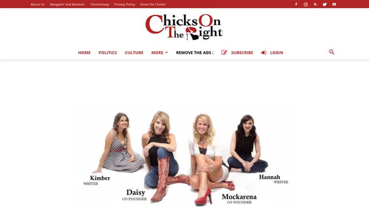 Chicks On The Right