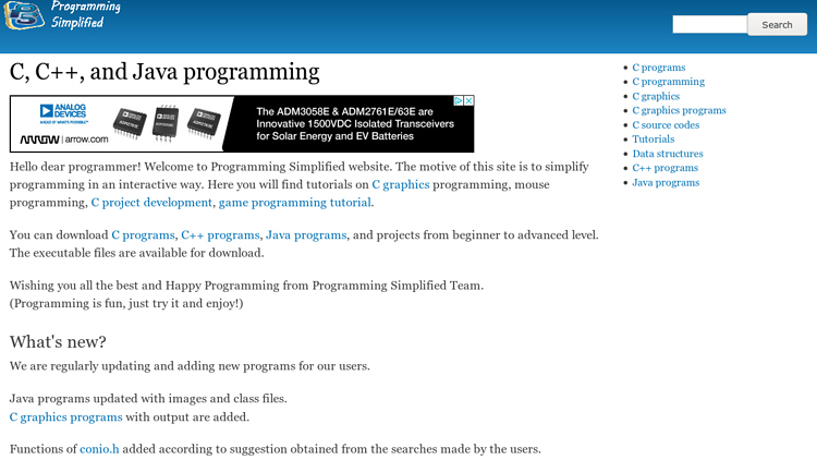 ProgrammingSimplified