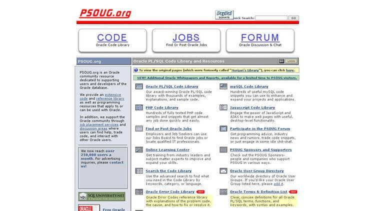 PSOUG.org