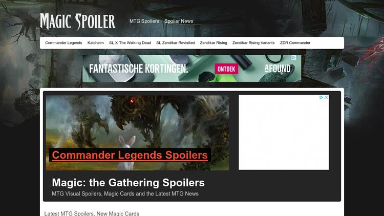MagicSpoiler.com