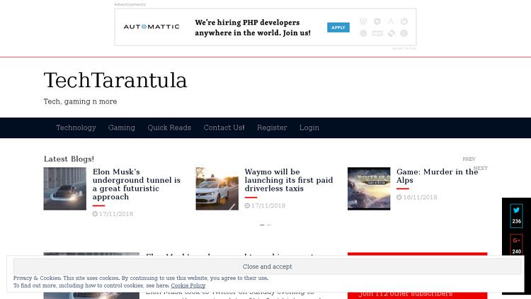 TechTarantula