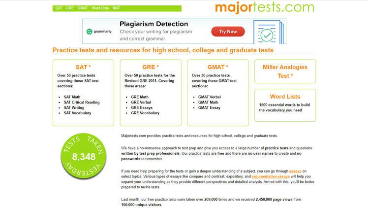 majortests.com