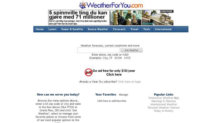WeatherForYou