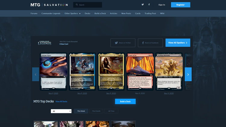 mtgSalvation.com