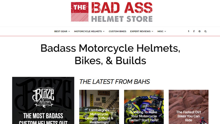 The Badass Helmet Store