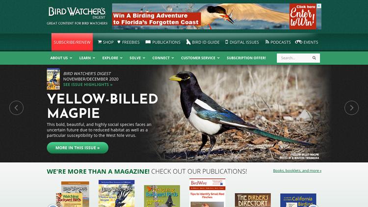 BirdWatchersDigest.com