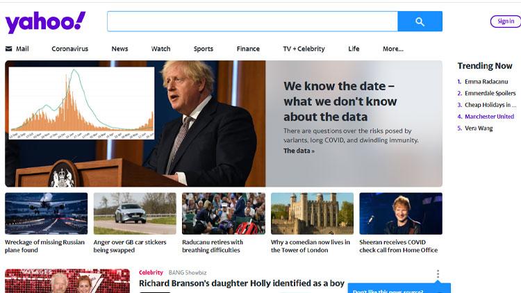 UK Yahoo!