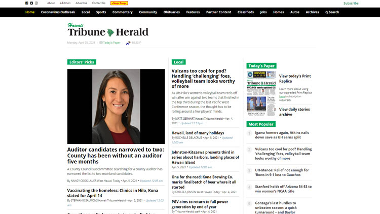 Hawaii Tribune-Herald