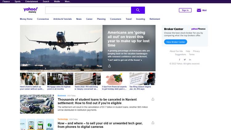Yahoo Money