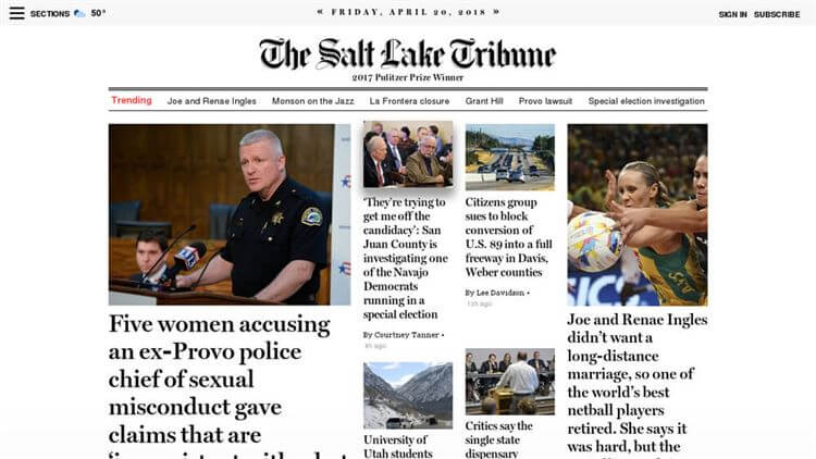 The Salt Lake Tribune