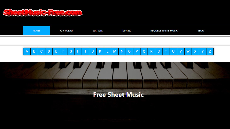 Sheetmusic-Free