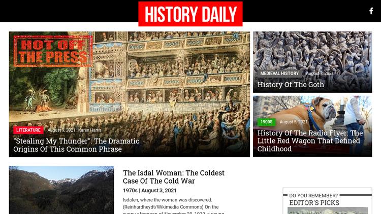 HISTORY DAILY