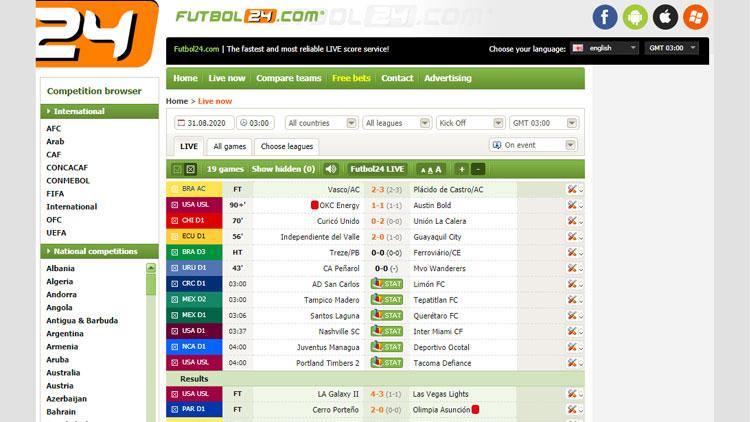 Futbol24.com