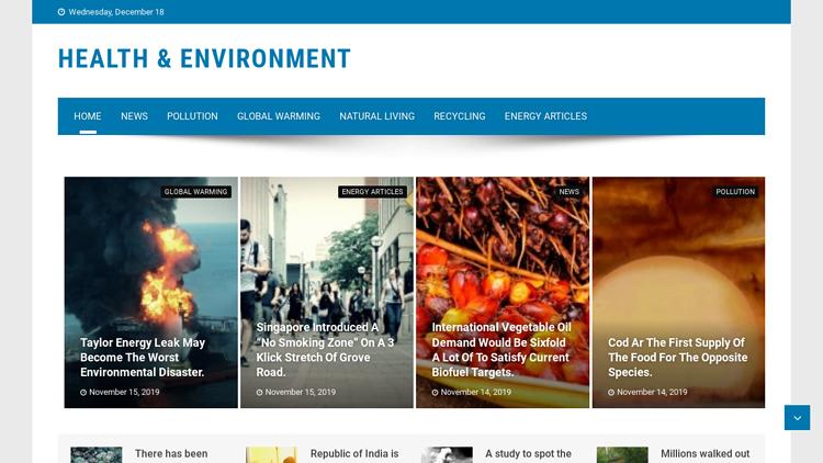 Health & Environment