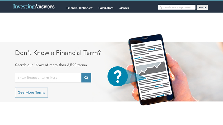 InvestingAnswers